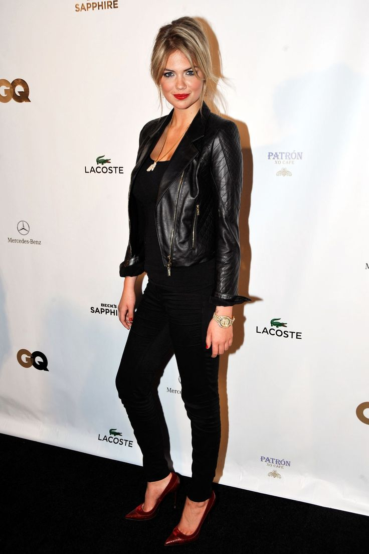 Kate upton style fashion pictures photos 2011 2012 for Mercedes benz leather jacket