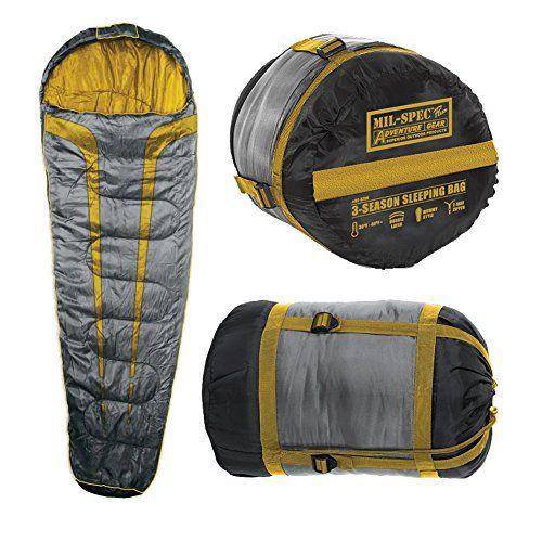 Mil Spec Plus Mt Timp 3 Season Sleeping Bag Gray