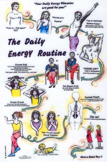 The Daily Energy Routine