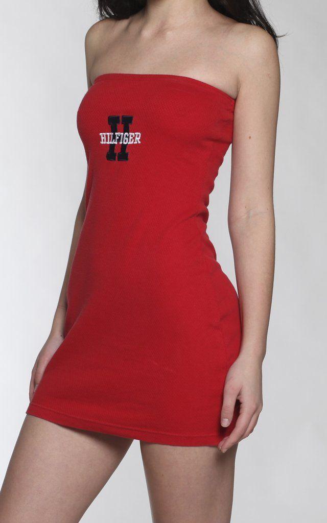 Vintage Tommy Hilfiger Tube Tee Dress  020e9f445d