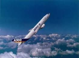 Parabolic flight - used for short term experiments and investigations in microgravity. The fleet has been expanded to include the newly configured A300.  The flight consists of cyclic periods of increased gravity (up to 2G) followed by approx 20 sec reduced gravity.