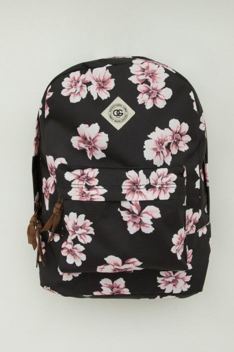 Floral backpack / Mochila Floral