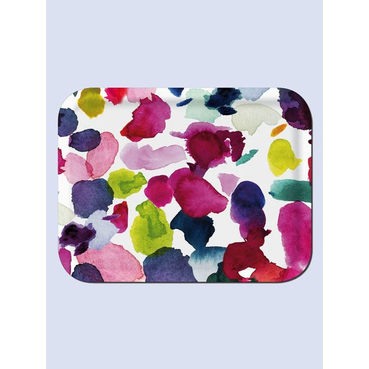 Bluebell Grey Abstract Tray