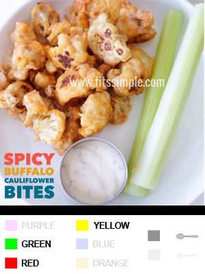 21 Day Fix Recipes, Meal Plans, and ALL THE DETAILS!!! Got a craving for chicken wings?!?! Try this substitute instead... SO GOOD!