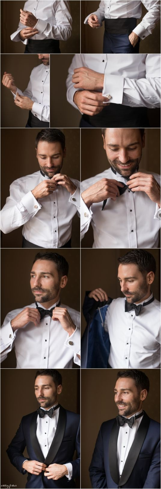 groom getting ready photos at saint louis union station
