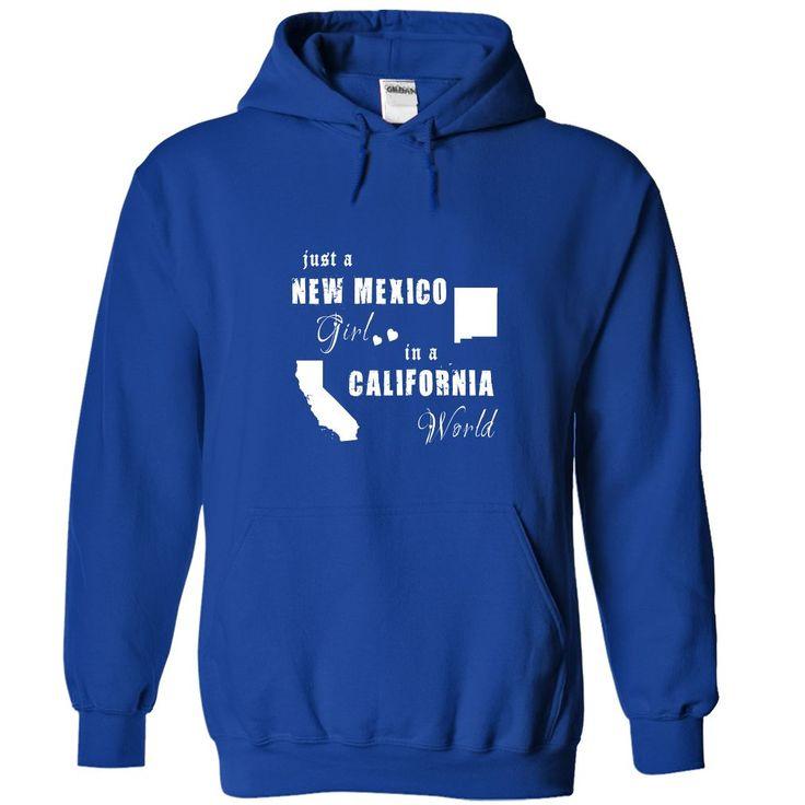 New Mexico girl in a California World