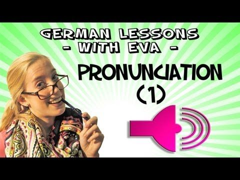 German Lesson 26 - German pronunciation (part 1) (+playlist)