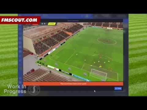 Football Manager 2016 PC Official Gameplay - 3D Match Engine - YouTube