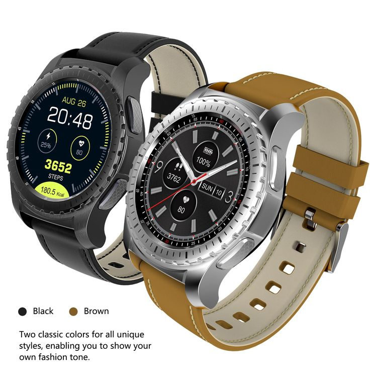 KINGWEAR KW28 1.3inch MTK2502 Heart Rate Sleep Monitor Bluetooth Sport Smart Watch For Android iOS