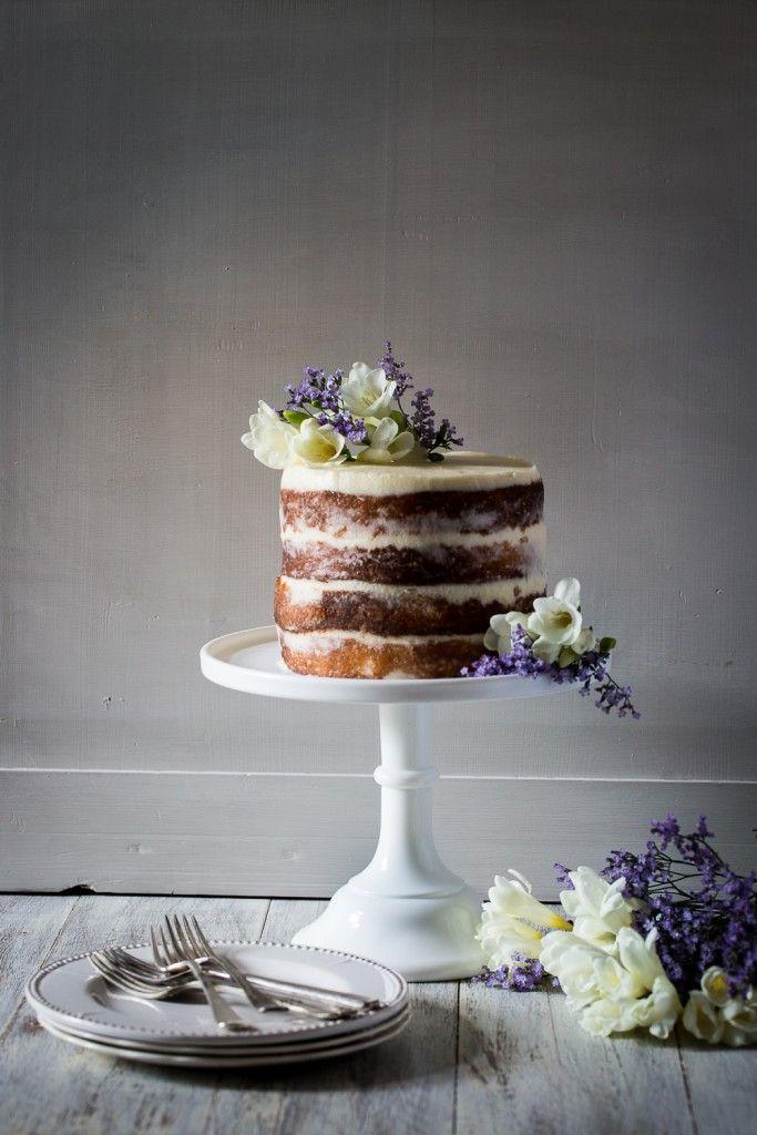 Elderflower, Lemon and Mascarpone Cake