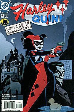Harley Quinn The character was created by Paul Dini and Bruce Timm and was originally voiced by Arleen Sorkin in Batman: The Animated Series and its tie-ins.