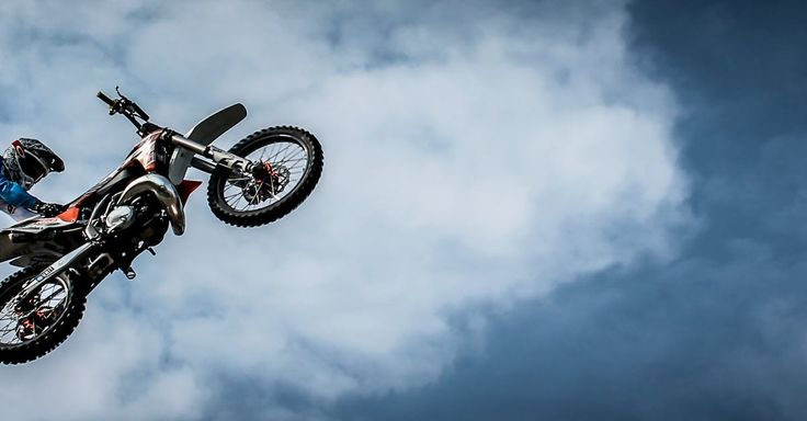 Man With Off Road Motorcycle Doing Tricks · Free Stock Photo