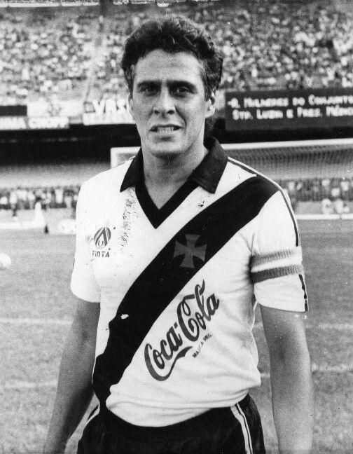 Roberto Dinamite/ Brasil, Vasco da Gama.