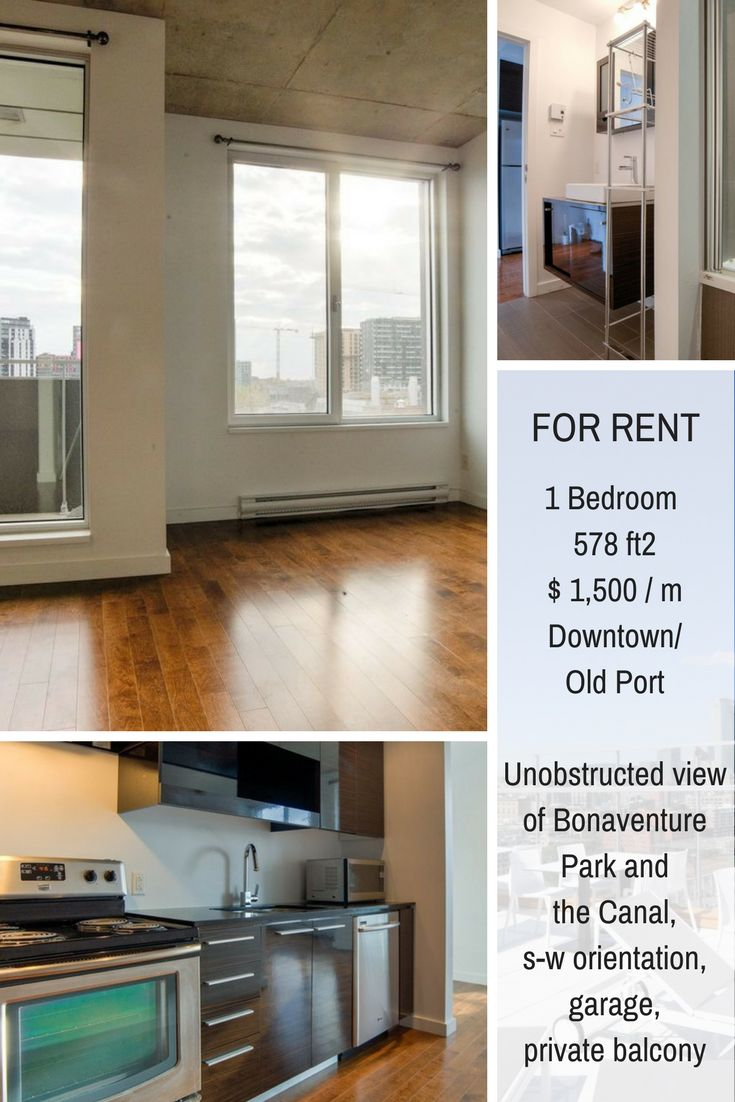 Minimalist condo for rent in Ville-Marie, located between Downtown and Old Port. Shared swimming pool, gym and lounge. #Condo #Montreal #RealEstate #Realtors #Brokers #Duquesimms #MontrealRealEstate #Ville-Marie