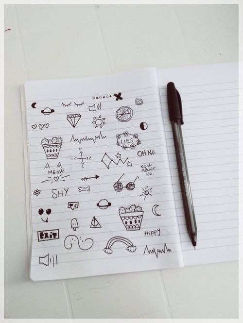 1000 images about doodles on pinterest drawing flowers for Small drawing ideas
