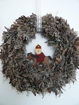Krans Sint.....Sinterklaas Wreatho