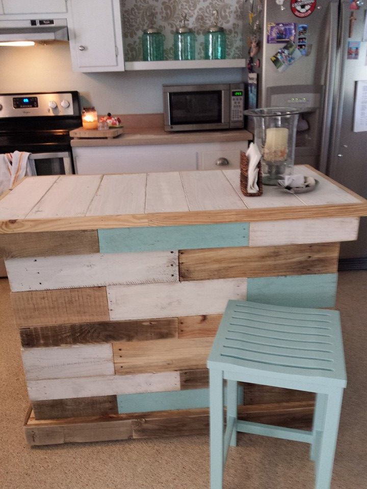Kitchen Island Table Diy 125 awesome diy pallet furniture ideas | 101 pallet ideas - part 9