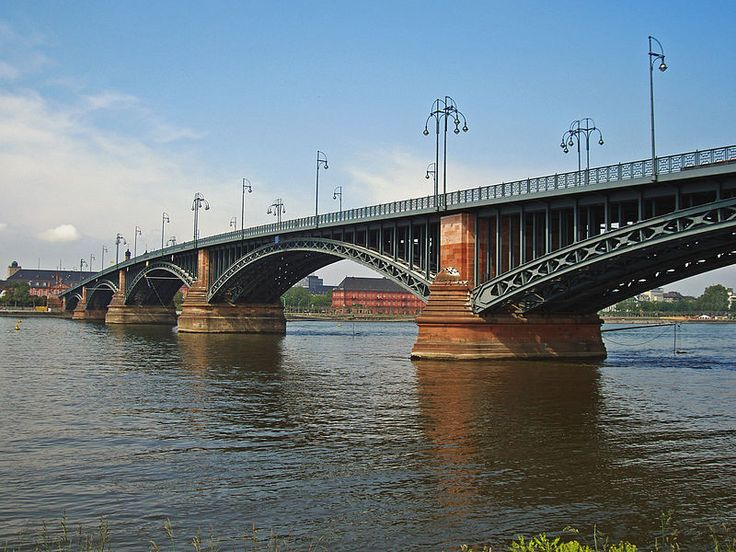 Mainz-Theodor-Heuss-Bruecke-2005-05-16a - Theodor Heuss Bridge (Mainz-Wiesbaden) - Wikipedia, the free encyclopedia
