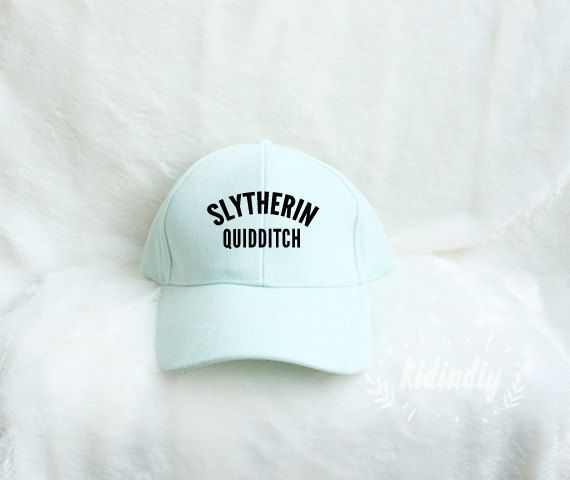 Slytherin Quidditch Baseball Caps Harry Potter Hat by kidindiy