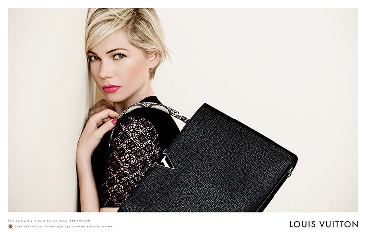 Michelle Williams x Louis Vuitton: Obsessed wit her hair!