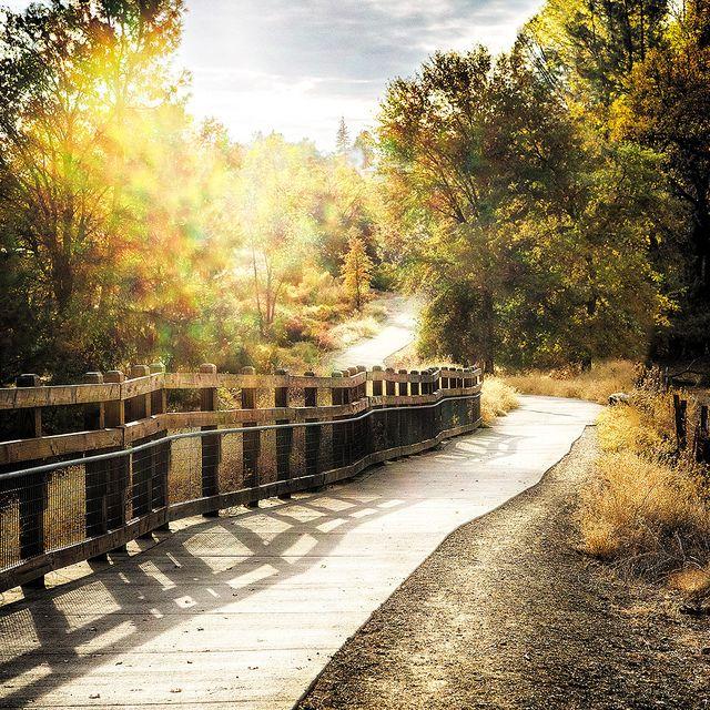 Rails to trails, El Dorado Trail, Placerville, CA [ BruceChampionRealEstate.com ] #Placerville #RealEstate #Premier