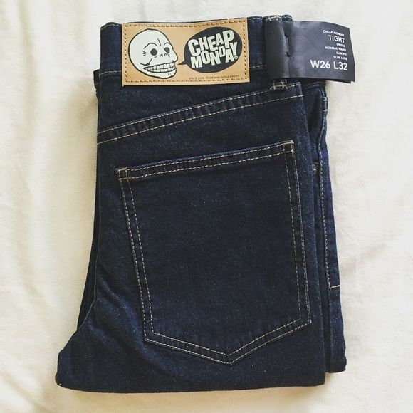 NEW Cheap Monday jeans Brand new with tags. **Join Poshmark app with my code HPYGO and get $10 to spend!** Cheap Monday Jeans Skinny