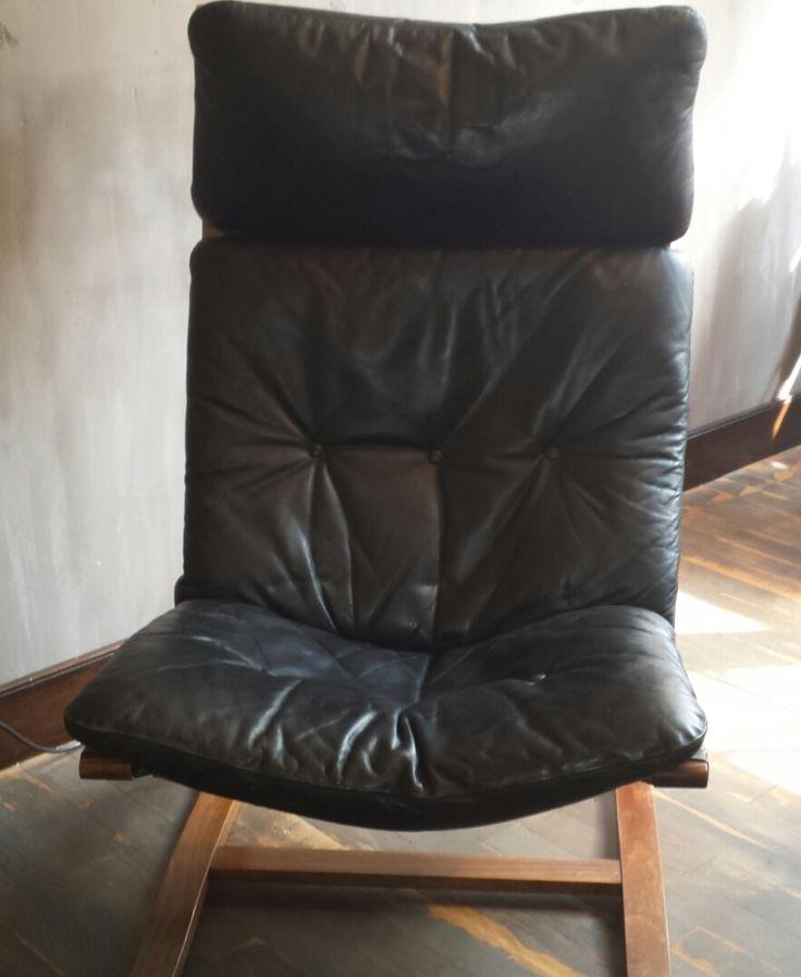 Lounge fauteuil van Ingmar Relling / Westnofa vintage
