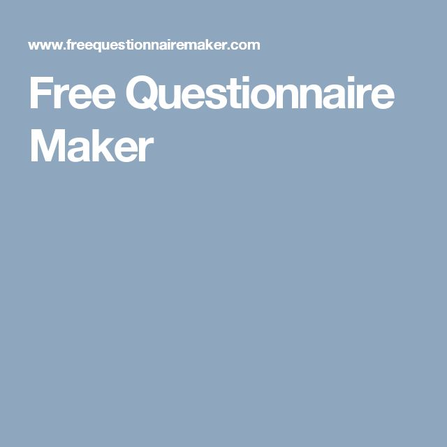 25+ best Questionnaire maker ideas on Pinterest | I m really bored ...