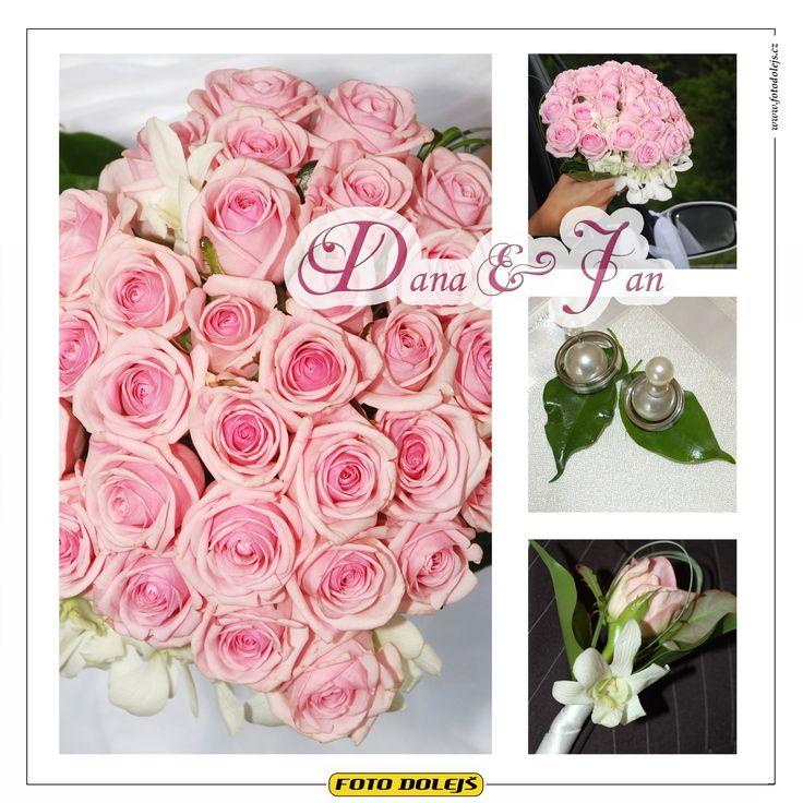 2008 Dana a Jan, svatební květiny