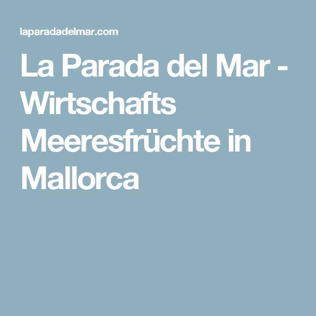 La Parada del Mar - Wirtschafts Meeresfrüchte in Mallorca