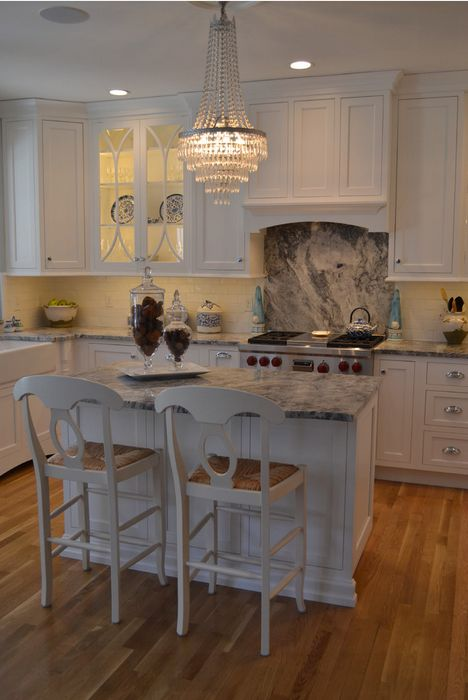 Attractive Cabico Cabinetry Door Style #665/K In Pure White Low Sheen Kitchen Design By