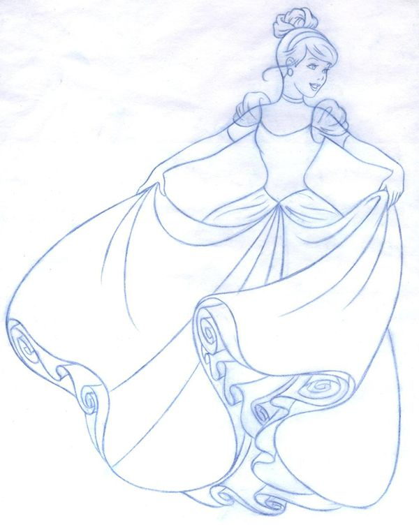 Disney Princess new redesign - Style Guide Art on Wacom Gallery