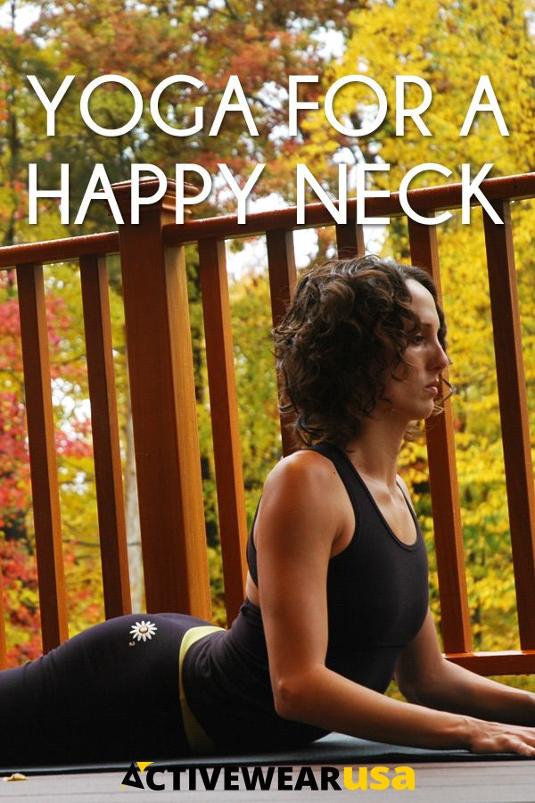 """""""Relieve neck pain, open shoulders, and create a healthy neck alignment with these yoga poses."""""""
