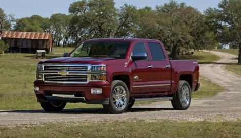 2014 Chevy Silverado High Country Available This Fall