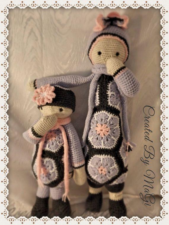 African Flower Dolls Lovely Sisters  Lalylala  by CreatedbyMaGi ♡