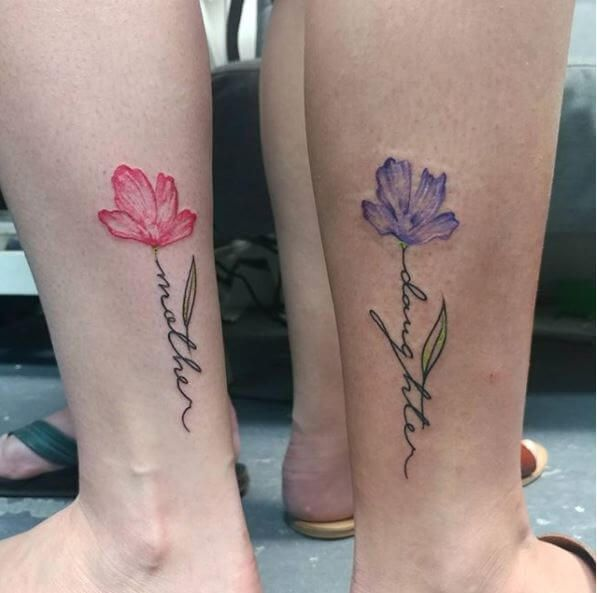 Mas De 200 Ideas De Tatuajes De Madre E Hija A Juego 2020 Disenos De Simbolos Con Significados In 2020 Tattoos For Daughters Mom Daughter Tattoos Mother Tattoos