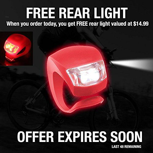 Bike Light - Comes With FREE TAIL LIGHT(Limited Time) - Tools-Free Installation in Seconds - The Best Headlight on Amazon Compatible with: Mountain & Kids & Street Bicycles - Divine LEDs http://coolbike.us/product/bike-light-comes-with-free-tail-lightlimited-time-tools-free-installation-in-seconds-the-best-headlight-on-amazon-compatible-with-mountain-kids-street-bicycles-divine-leds/