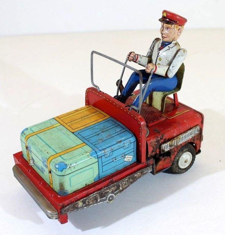 Vintage Japanese Battery Op Dog Toy
