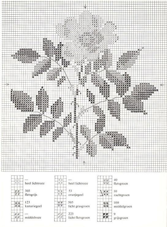 Gallery.ru / Фото #15 - Cross Stitch Pattern in Color - Mosca
