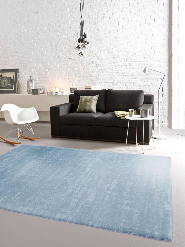 Himmelblauer Eyecatcher: benuta Teppich Opus Cosiness #benuta #teppich #interior #rugs