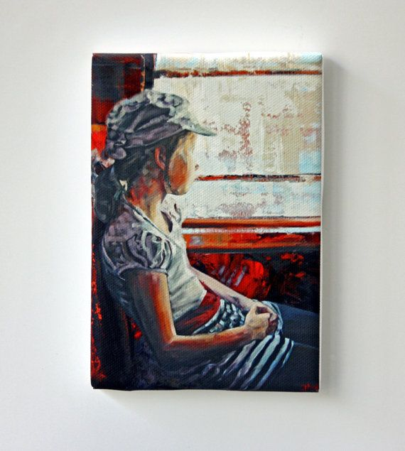 Tiny Canvas  Classic Art  Child Art  Canvas by ClaireMcCallArt