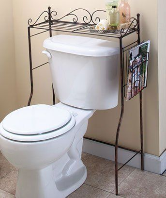 Bronze Over The Toilet Stand By LSI. $26.95. Made Of Metal.