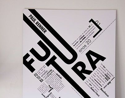"""Check out new work on my @Behance portfolio: """"Futura Poster"""" http://on.be.net/9emrAA"""