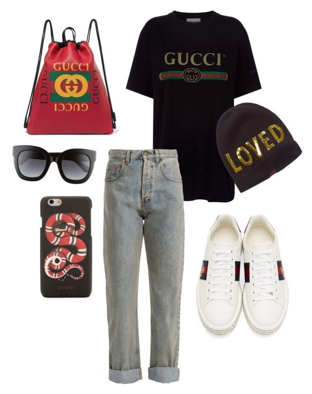 """""""Tribute to Gucci 01"""" by viraslv on Polyvore featuring Gucci"""