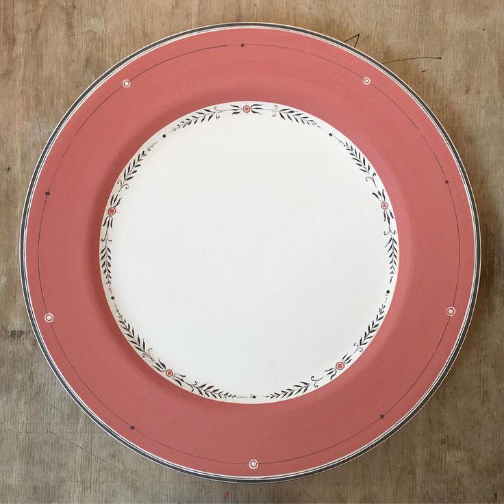"355 Likes, 9 Comments - Laboratorio Paravicini (@laboratorioparavicini) on Instagram: ""New plate study #workinprogress #handpainted #custom"""