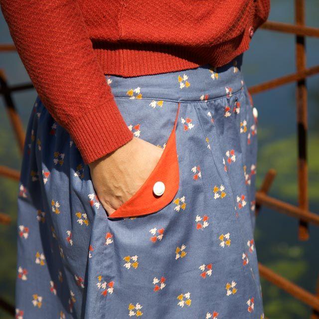 The Lotta skirt (teens/women) paper pattern   Compagnie-M