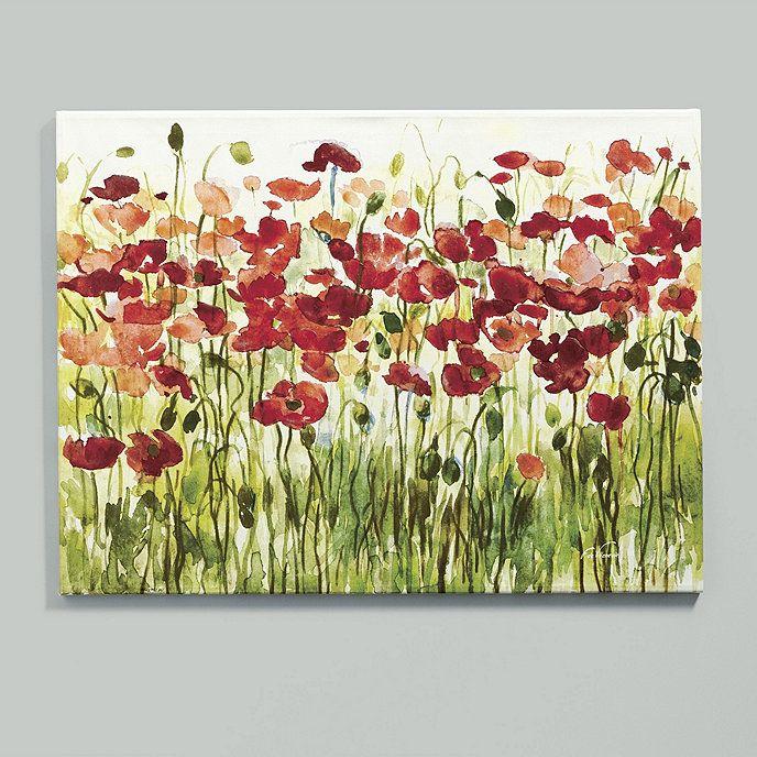 Sea of Poppies Giclee Print | Ballard Designs