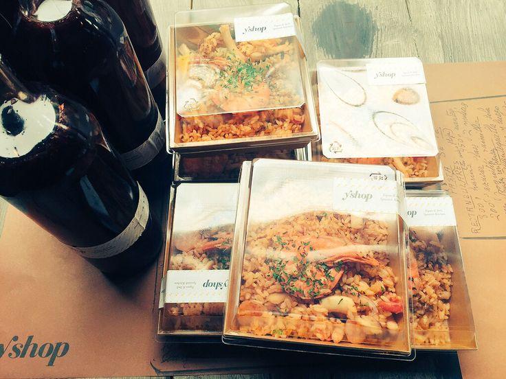 paella#spanish deli#package#seoul#sangria