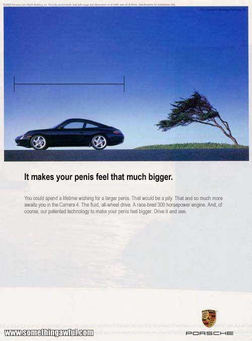 Advertentie Porsche 911