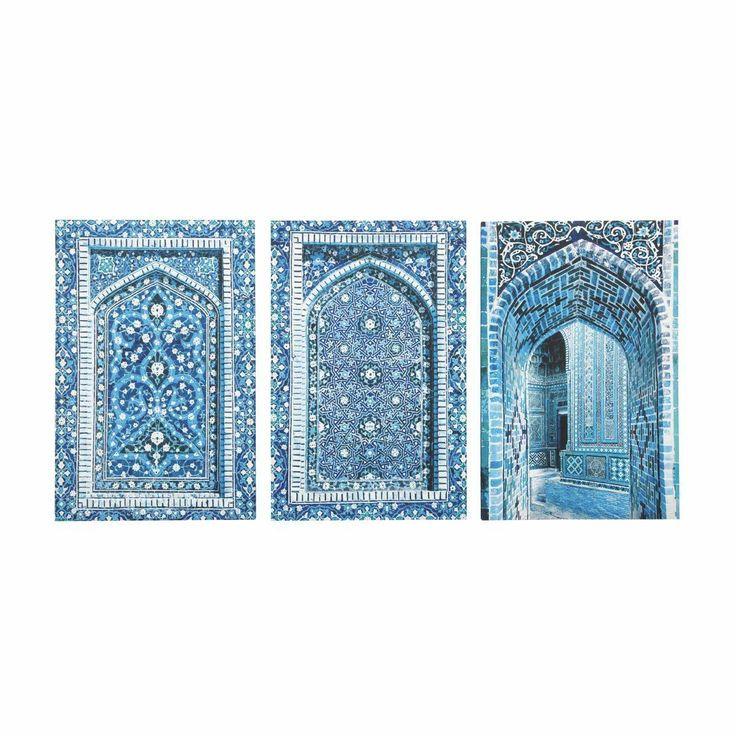 3 tele blu Gabès - Maisons du monde